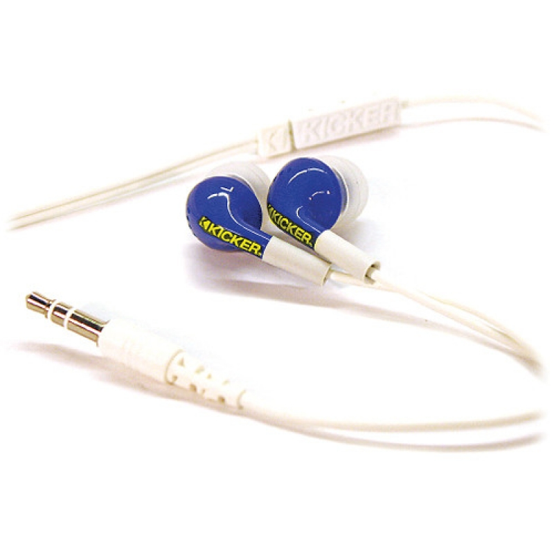Kicker Livin loud blue noise isolation in-ear monitors