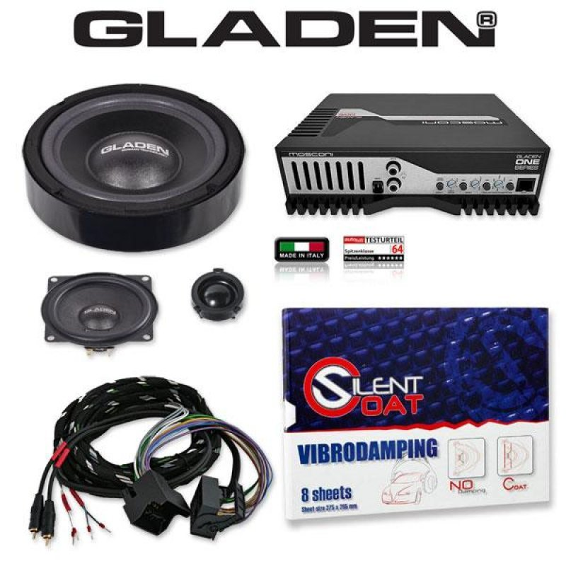 GLADEN ONE GOLF 5 Pack 1 Pasklare Audio Upgrade