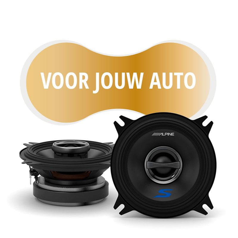 Premium speakers voor VW Jetta II 1985-1992