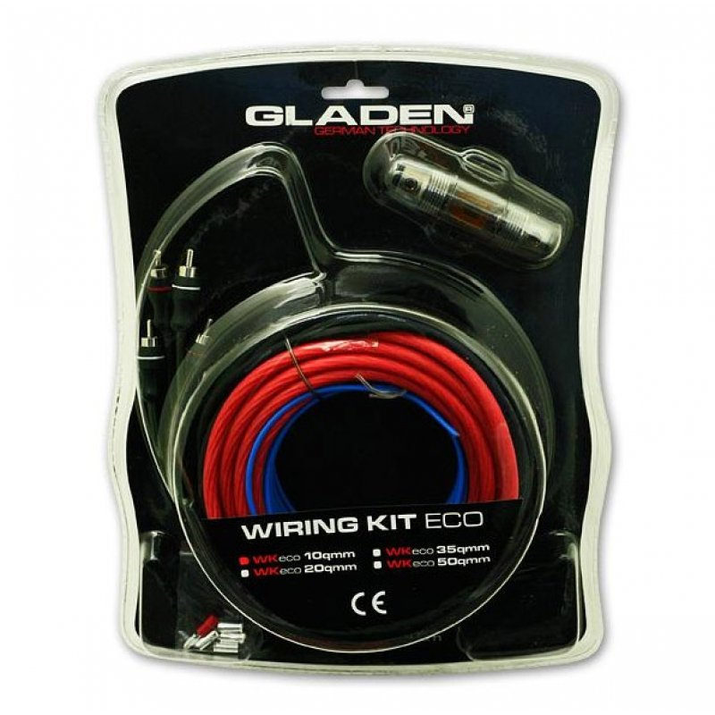 GLADEN - Kabelset WK 10 ECO - 10 mm